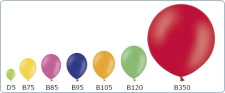 rozmiary balonów edan-art