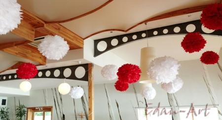 Pompony wesele Przystań