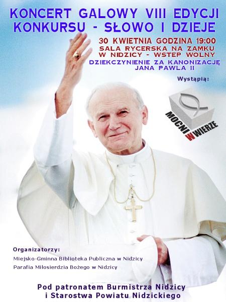Plakat Nidzica - projekt TrzeciakiewiczDesign
