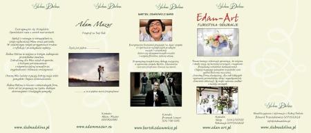Folder reklamowy projekt TrzeciakiewiczDesign